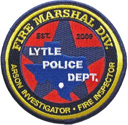 Fire Marshal Patch
