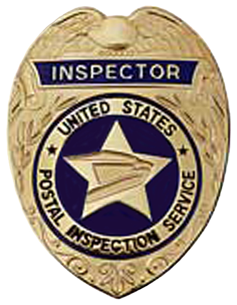 United States Postal Inspection Service Inspector Badge