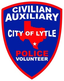 Civilian Auxiliary City of Lytle Police Volunteer